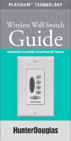 Hunter Douglas Wall Switch Installation Guide