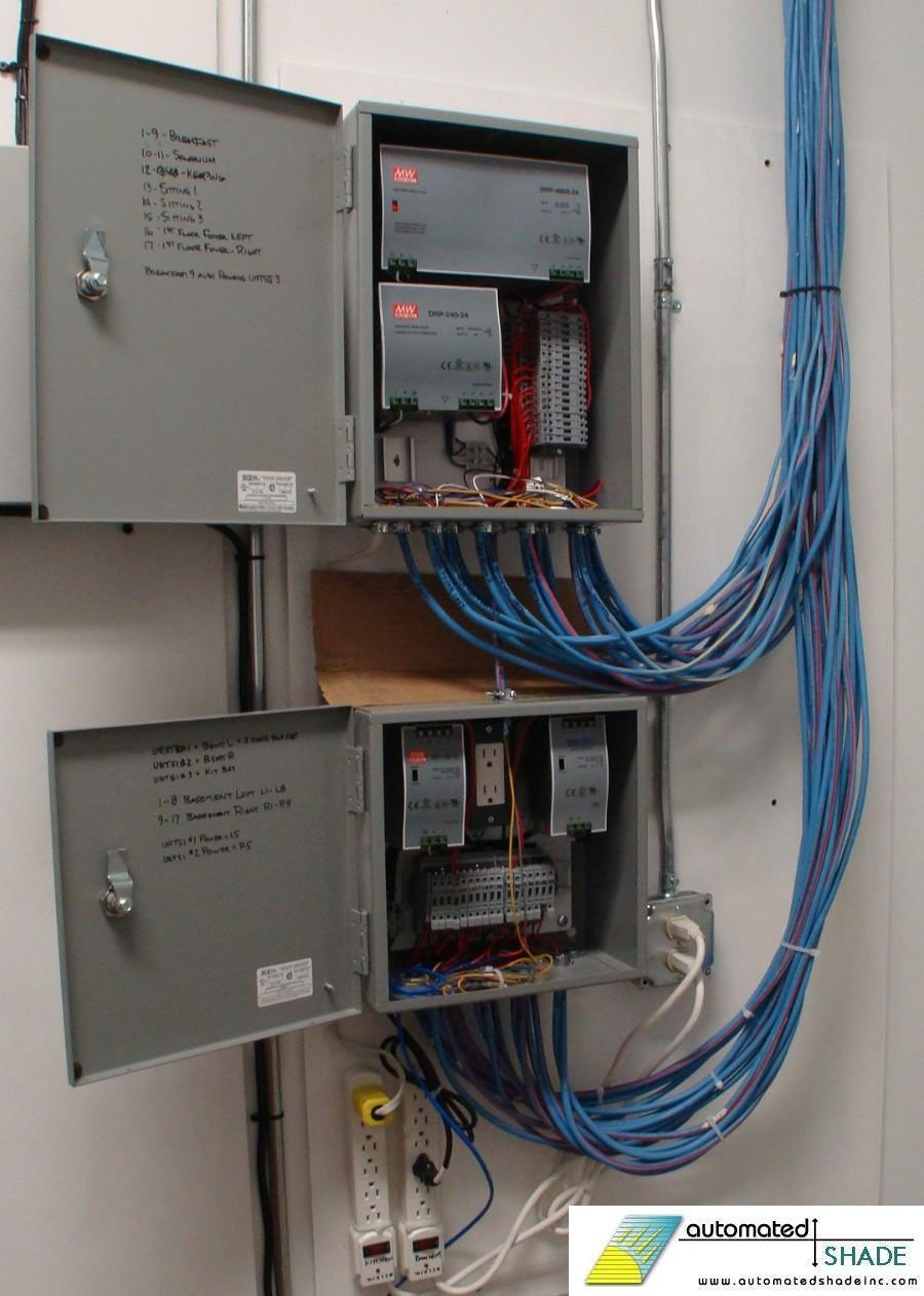 powerpanel 900 automated shade wiring diagram for motorized blinds at crackthecode.co